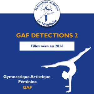GAF DETECTIONS 2 | 21-22